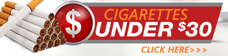 Cheap Cigarettes under $30 per carton